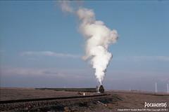2018/1/1 JS8080 Sandaoling (Pocahontas®) Tags: js8080 steam steamlocomotive locomotive railroad rail railway engine loco sandaoling mine coalmine xinjiang film 135film kodakektar100 ektar100 kodak