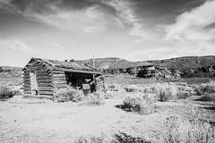 Sulpher Creek Trail, Wayne County, Utah (paccode) Tags: solemn d850 landscape desert bushes brush blackwhite hills forgotten barn monochrome quiet abandoned creepy utah scary winter mesa serious mountain torrey unitedstates us