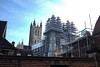 The Builders Are In (geedub611) Tags: ancient tower spire masonry stone restoration renovate repair structure canterbury city cathedral historical history heritage church scaffolding scaffold