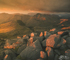 Great Gable from Scafell Pike (►►M J Turner Photography ◄◄) Tags: scafellpike greatgable pillar lakedistrict cumbria england unitedkingdom unesco worldheritagesite unescoworldheritagesite