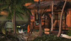 Brighter Than the Sun (kyreneglendevon) Tags: beach hut cherelle capra circa living moonsoul residident galland homes robert winter thorn whatnext cheeky pea sl tropics second life secondlife landscape studio skye