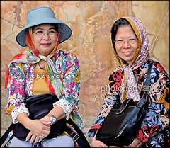 Chinese tourists ([photopooyan]) Tags: chinese tourist people iran isfahan imamsquare esfahan