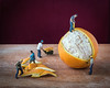 ODC - Busy (lclower19) Tags: odc busy figures o orange laborers closeup takeaim peeling miniature odt
