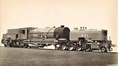 "Gold Coast Railway - GCR ""Beyer Garratt"" type 2-8-2+2-8-2 steam locomotive Nr. 301 (War Department Nr. 4400 & 74400) (Beyer Peacock Locomotive Works, Manchester-Gorton 7057 / 1943) (HISTORICAL RAILWAY IMAGES) Tags: steam locomotive bp beyerpeacock manchester gorton garratt wd goldcoast railway 282282"