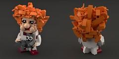 Yuri Kuklachev (Space Glove) Tags: lego clown ldd