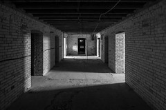 IMGP7415-Edit (Drew's Arcade) Tags: traverse city state hospital michigan pure abandoned bnw balck white