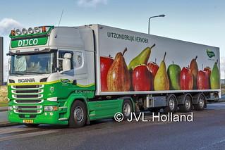 Scania R410  NL  DIJCO  theGreenery  180201-213-C2 ©JVL.Holland