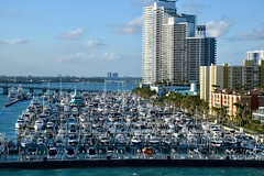 Miami Marina (The Brit_2) Tags: miami florida absolutelystunningscapes marina
