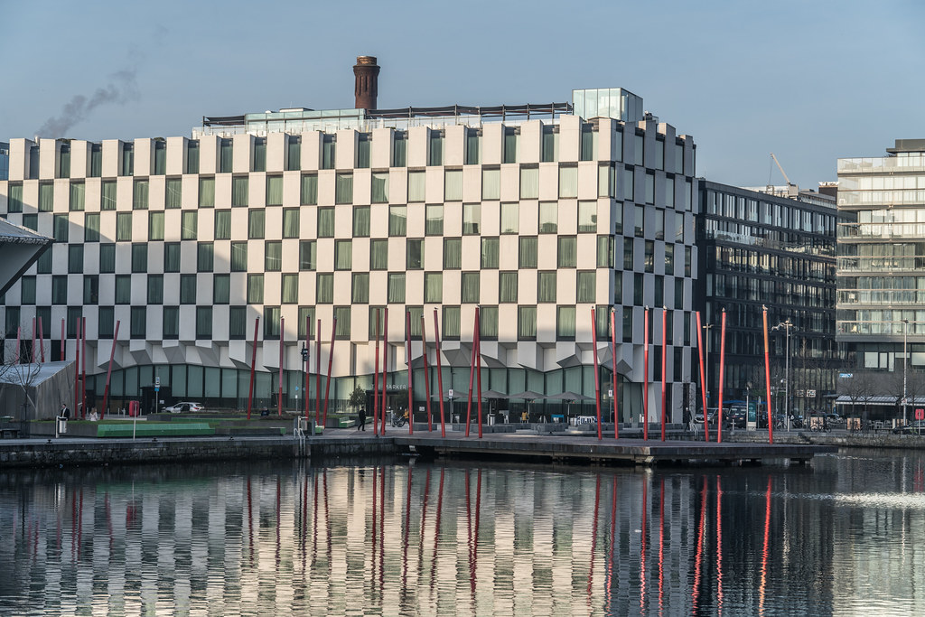 GRAND CANAL DOCK AREA OF DUBLIN [PHOTOGRAPHED 11 JANUARY 2018]-135437
