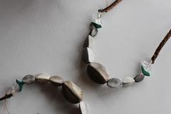 IMG_1202_1_two_birds_turquoise (Anastàssia) Tags: smoke fired ceramics smokefiredceramics ceramicjewelry jewelry jewelrydesign gray grey handmade fetama hechoamano slowfashion imadeit