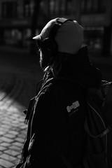 20180221-street-0093 (xskyven) Tags: praha street streetphoto blackandwhite contrast siluet person