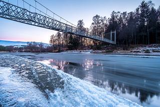 Caumbus O'May suspension Bridge