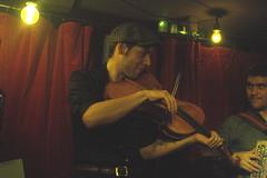 I Fratelli Tarzanelli (2018) 02 - Baltazar Montanaro (KM's Live Music shots) Tags: worldmusic france ifratellitarzanelli baltazarmontanaro baritoneviolin 5stringviolin violin folkonmonday greennote