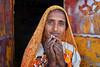 rajasthan - india 2018 (mauriziopeddis) Tags: india rajasthan udaipur village street portrait ritratto people face viso color colors colori canon orange
