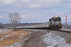 """Westbound RoadRailer Train in Missouri City, MO (""""Righteous"""" Grant G.) Tags: ns norfolk southern railway railroad locomotive train trains west westbound ge power general electric road rail roadrailer triple crown service trailer"""