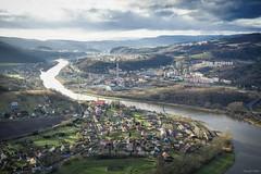 river Elbe (tamson66) Tags: elbe river landscape cz ústí autumn
