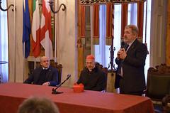 Cardinale20 (Genova città digitale) Tags: genova cardinale angelo bagnasco vescovo arcivescovo comune sindaco visita inizio anno marco bucci gennaio 2018 palazzo tursi