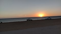 A walk at beach (sixline) Tags: flickrfriday threesacrowd beach sunset sea redsea