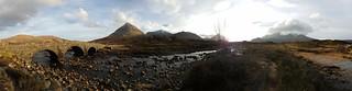 Cuillin Mountains from Sligachan