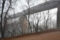 Austin: Colorado River Bridge (zug55) Tags: austin texas ladybirdlake lake coloradoriver townlake fog bridge railraodbridge railroad railway rail river mopac coloradoriverbridge missouripacificrailroadbridge townlakebridge ladybirdlakebridge unionpacificrailroad missouripacificrailroad mist
