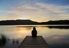 Superació (jocsdellum) Tags: superació growth soledad solitud loneliness aigua water agua estany llac lago estanque lake banyoles atardecer sunset capvespre repte reto challenge