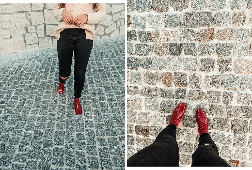 look_botas_vermelhas_vinil_bershka_4