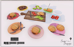 {YD} Burger Hungry (*Your Dreams*) Tags: yourdreams newdecoration sandwich food thechapterfour 100 mesh original