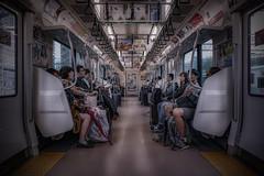 A day in Tokyo (karinavera) Tags: city photography cityscape urban ilcea7m2 people japan metro tokyo train