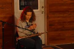 Kate Olson, musician (bballchico) Tags: kateolson saxophone electronics reverb echos lights improvisation jazz music musician liveonhollowearthradio seattle capitolhill