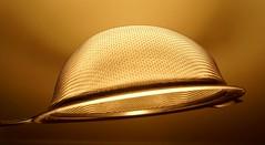 Golden light - 1 (M. Carpentier) Tags: light sifter glow lumières brillant passoire art