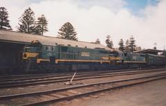 X34 X36 Warrnambool (tommyg1994) Tags: west coast railway wcr emd b t x a s n class vline warrnambool geelong b61 b65 t369 x41 s300 s311 s302 b76 a71 pcp bz acz bs brs excursion train australia victoria freight fa pco pcj