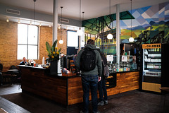 2018-02-09 11.27.54 (Yellow Sky Photography) Tags: lacolombe wickerpark damen cafeundertheel davidguinnmural cafe barlayout