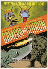 MST3K-Gamera-vs-Guron (Count_Strad) Tags: movie cover art coverart drama action horror comedy mystery scifi vhs dvd bluray mst3k mysterysciencetheater3000