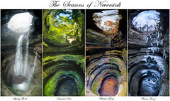 Seasons of Neversink (Sunguramy [Amata Hinkle]) Tags: alabama cave caving neversink preserve