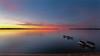 Tranquility (mjhedge) Tags: michigan puremichigan grandtraversebay traversecity lakemichigan sunset reflection reflections colorful water bay eastbay fuji fujifilm fujifilmxt2 xf1024 wideangle summer evening serene tranquil