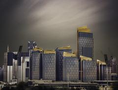 Urban Series VII (Minas Stratigos) Tags: fine art long exposure formatt hitech doha qatar financial centre