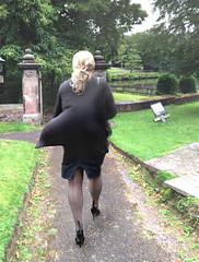 ff seams (LeggySara) Tags: seam ff stocking heels cubanheel gust upskirt candid