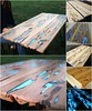 Best Bar Top Ideas - Probably the coolest Summer Project!! DIY Glow-in-the-dark table (devin176) Tags: bar bartop coolest diy glowinthedark ideas project summer table top