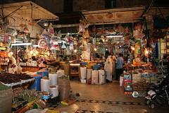 Moroccan Market (Domingo Castillo) Tags: market marraquech morocco arabes supermarket gente peoples purchases night noches spices especias