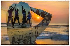 Bali (1seeu) Tags: model travel fun seaside bali sunset