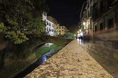 Carrera del Darro - Granada (Alphonso Mancuso) Tags: andalucía granada españa europa alhambra río darro nocturna noche night canon 6dmarkii 24105f4