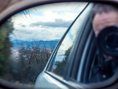Retrovisor (Javier RjN) Tags: mirror view rear winter car snow driving snowy side road landscape auto reflection travel vehicle trip field rural transportation way roads nature forest blue rearviewmirror
