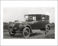 Vehicle Collection (8484) - Daimler (Steve Given) Tags: motorvehicle automobile daimler limousine england 1930s workingvehicle