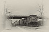 CSX.MuirkirkMD011518Q276.9074bbw36 (jrm_rr) Tags: ac44cw ac4400cw csx csxt485 q276 muirkirk md maryland autorack autoracks freight train railroad engine locomotive station bridge mainline bw blackwhite tree