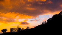 Sunset. (robdando) Tags: gloucestershire nikon
