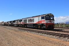 Three on 5PM9 (evenst3132) Tags: sct csr csr012 railways australia port germein railroad sct002 sct012 5pm9 freight intermodal locomotives