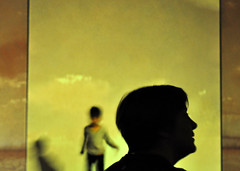 Choose Life (Eleni Maitou) Tags: portrait yellow street streetphotography nikon vangohgalive