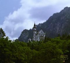 Neuschwanstein (Jurek.P) Tags: neuschwanstein castle bavaria germany europe niemcy architecture architektura history scan 35mm minoltadynax7000i jurekp