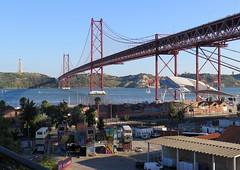 233-July'17 (Silvia Inacio) Tags: lisbon lisboa portugal tagus rio tejo river tagusriver riotejo cristorei bridge ponte ponte25abril lxfactory
