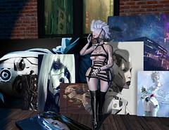#117 (Eeukie's Closet) Tags: black cyber tattoo juna oops punk art through eyes charlie serendipity janet poses the darkness chamber fair tdcf sl eeukies closet